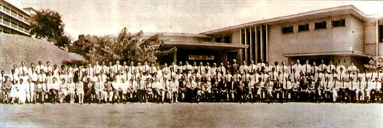 The first Congress was held at the Pathology Lecture Theatre in the grounds of the Singapore General Hospital from 3-5 may 1963. The President of the 1st Congress was Prof. Gordon Arthur Ransome. The Congress was declared open by Dr. K Shanmugaratnam, Dean of the Faculty of Medicine, University of Malaya in Singapore.
