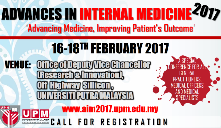 Advances in Internal Medicine 2017 - Advancing Medicine, Improving Patient's Outcome